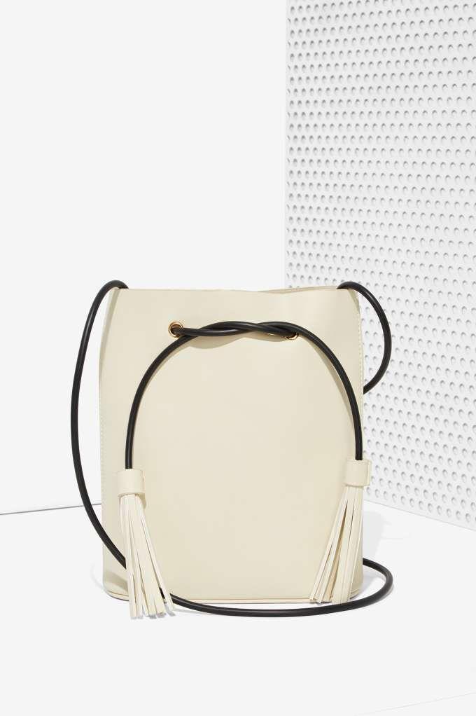 Paradigm Vegan Leather Bucket Bag   Accessories   Bags   Backpacks