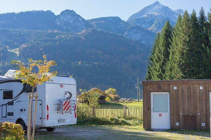 Camping Resort Zugspitze, Wohnmobil-Urlaub, Reisen mit dem Wohnmobil #travel #Wohnmobil #camper