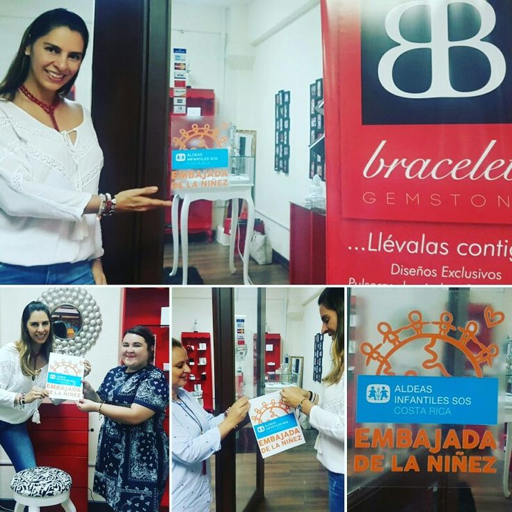 @braceletgemcr es Embajadora de la niñez en Costa Rica.