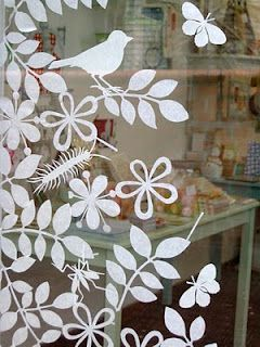 Frühling - Fensterbilder