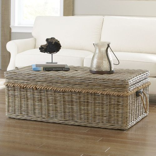 Found it at Wayfair - Owens Rattan Coffee Table