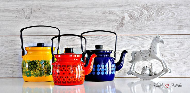 Please LIKE US at  https://www.facebook.com/simplylovenordic  Finel coffee pots in 3 different sizes