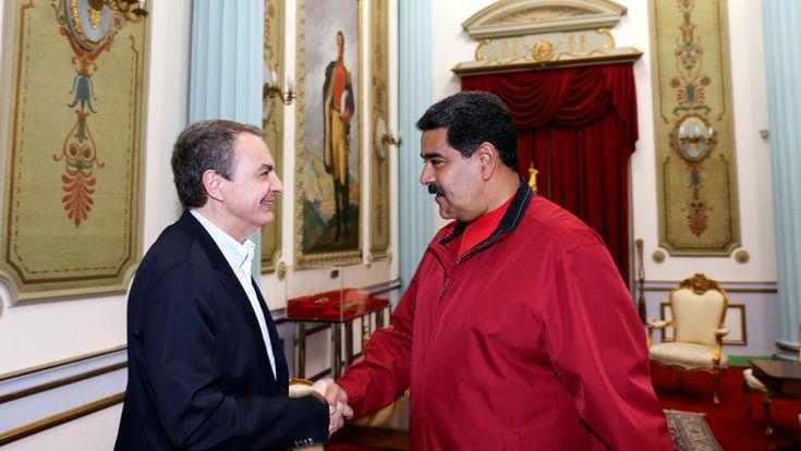 ICYMI: Maduro se reúne en Caracas con el expresidente español Jose Luis Rodríguez Zapatero