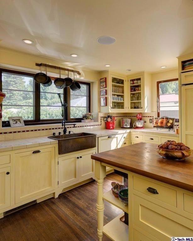 Updated California Spanish Revival kitchen in Pasadena, CA