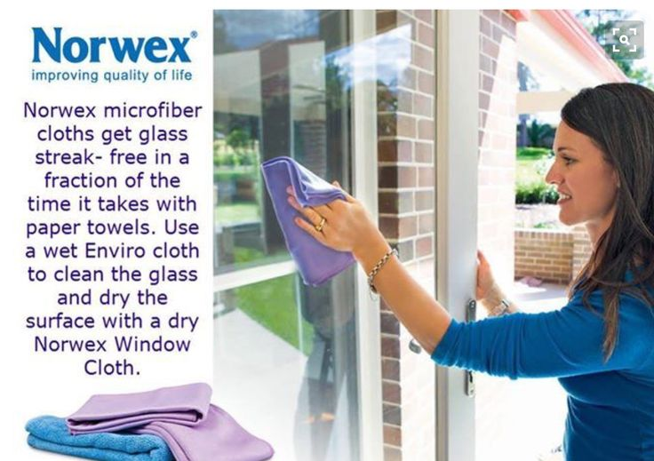 I absolutely promise that if you ever use the Norwex Window cloth to clean just one window, you will never use anything else.