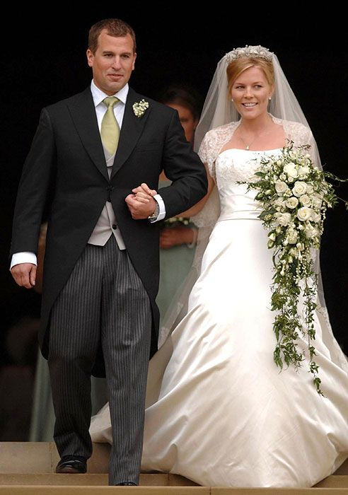 "Peter Phillips and Autumn Kelly, May 17, 2008...Princess Anne's Daughter Marries...A Lovely, ""Down The Line"" Heir to the British Throne"".."