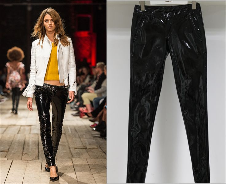 Suede Pants For Women From Fashion Show