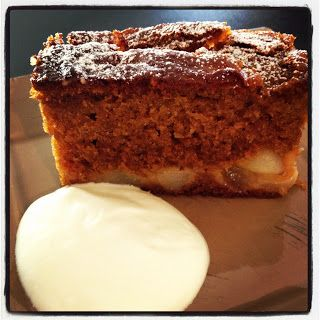 Sticky Pear Ginger Cake | Thermomix Recipes