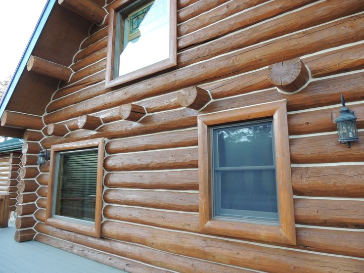 84 best images about exterior on pinterest stains log for How to stain log cabin