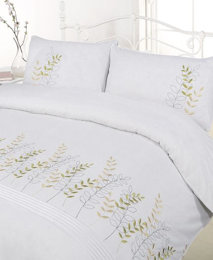 Catherine Queen Embroidery Duvet Cover.