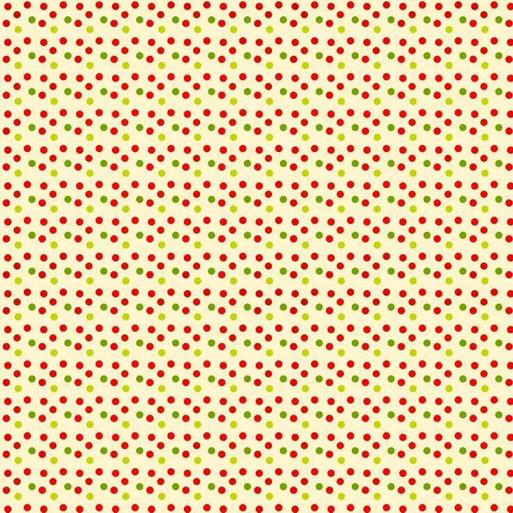 varicolored pattern polka dots