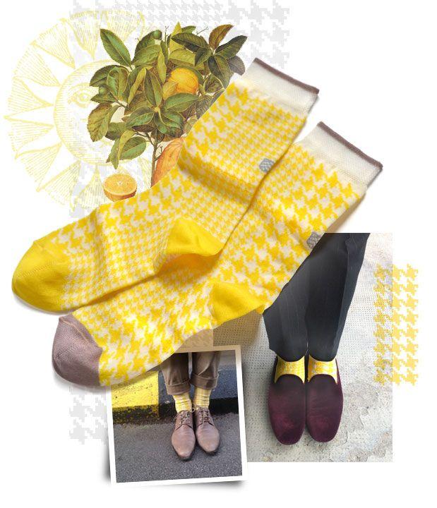 Poulle Sun socks | Light drawer | Oybō: untuned socks for smart feet