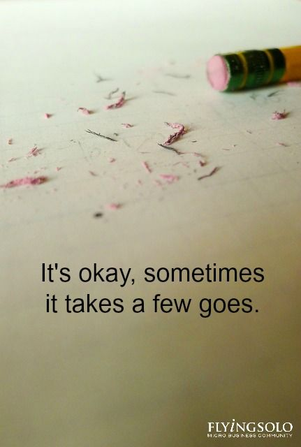 You'll get there. It sometimes takes a few goes. :)