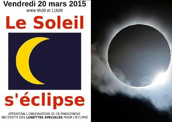 Eclipse solaire du 20 mars attention la coupure d - Heure de lever et coucher de la lune ...
