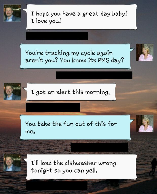This. You know you've got a good one when he tries to console you and then volunteers to be your PMS punching bag.
