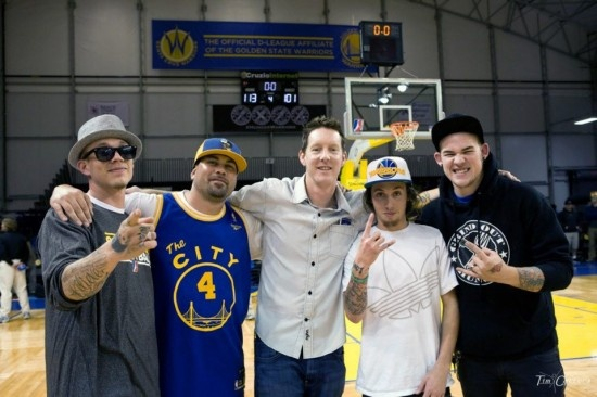 Chris Rene, James Durbin, Santa Cruz Warriors @grindouthunger http://grindouthunger.org/2013NewYearResolution