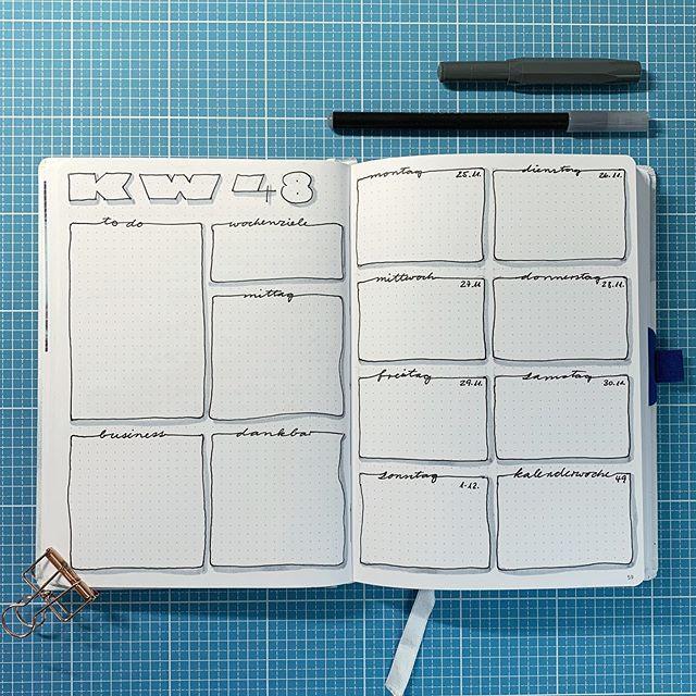 Neue Woche Neuer Plan Gerade Erst Fertig Geworden Und Dieses Mal