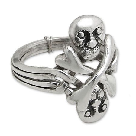 turkish wedding ring with skulls - Turkish Wedding Ring