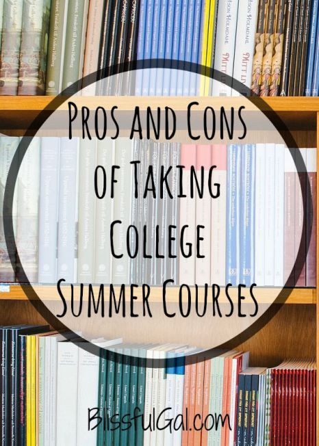 Considering taking summer courses in college? Here's why I think summer classes can be very beneficial!
