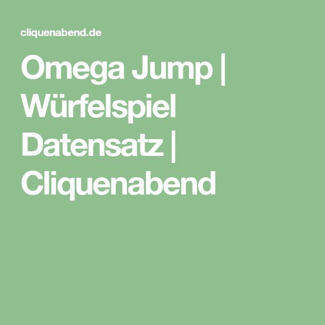 Omega Jump | Würfelspiel Datensatz | Cliquenabend