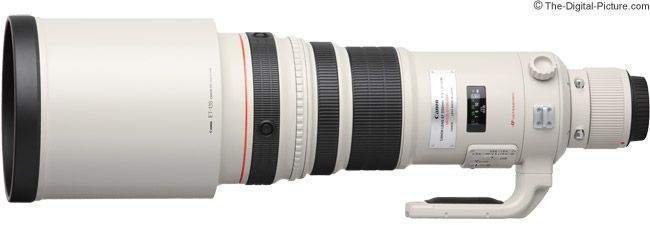 Canon EF 500mm f/4L IS USM Lens Product Images