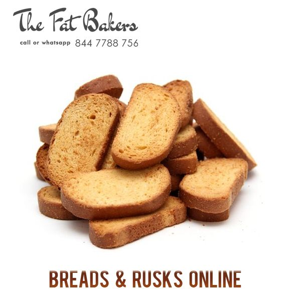 The Fat Baker – Best Price Shop to Buy Breads & Rusks Online in New Delhi, India. Our rusks are specially made with best quality wheat flour and we add many more flavors to make our rusks more delicious and crispy for a very long time.  Call or WhatsApp +91- 844 7788 756 or Visit: - http://thefatbakers.com/bread-n-rusks-in-new-delhi.html