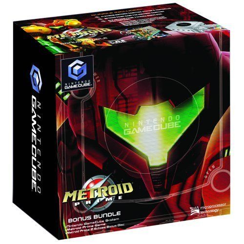 Nintendo GameCube Metroid Prime Bonus Bundle (Limited Edition Platinum)