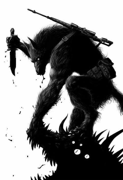 Werewolf (artist unknown)                                                                                                                                                      Mehr