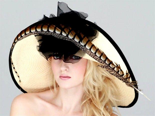 Contemporary Summer Hats Design for Women, Coco Rococo by Judy Bentinck - DESIGN. LIFESTYLE. FURNITURE. | BritainMarkt, The European Design Market