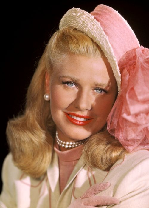 """Ginger Rogers in """"It Had to Be You"""" and in her favorite color pink!"""