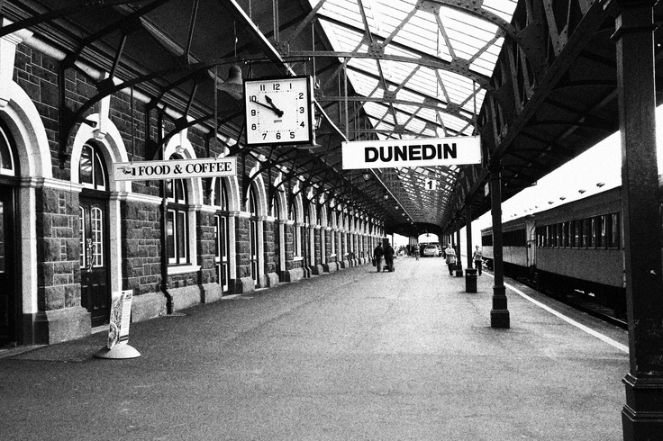 Dunedin Train Station, New Zealand