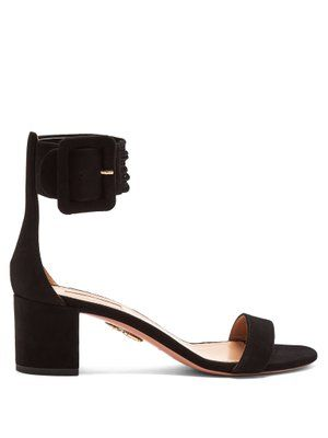 Casablanca multi-strap suede sandals | Aquazzura | MATCHESFASHION.COM