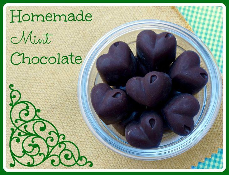 Homemade Mint Chocolate
