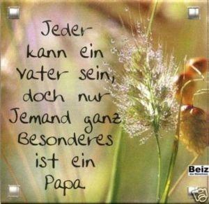 06 Magnet m. Spruch : Jeder kann Vater sein.... .......