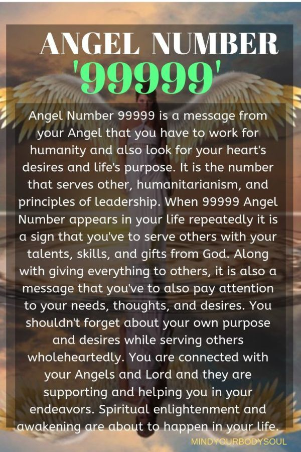 99999 Angel Number And It S Meaning Angel Number Meanings Angel Numbers Angel