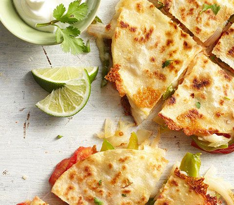 Fajita Style Quesadillas Recipe Recipes To Cook Healthy Dinner