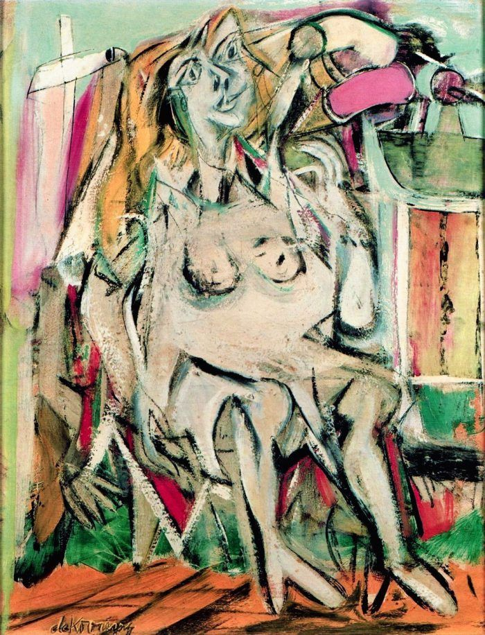 Las Mujeres de Willem de Kooning