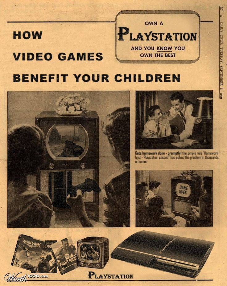 Retro Advertising for Facebook, Twitter, YouTube & 50's Style Skype + iPod, Gameboy & Co.