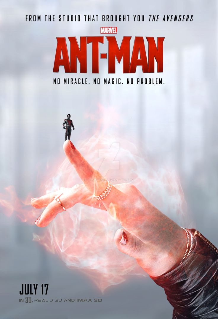 'Ant-Man' Poster (Scarlet Witch) by Thomas Clarke