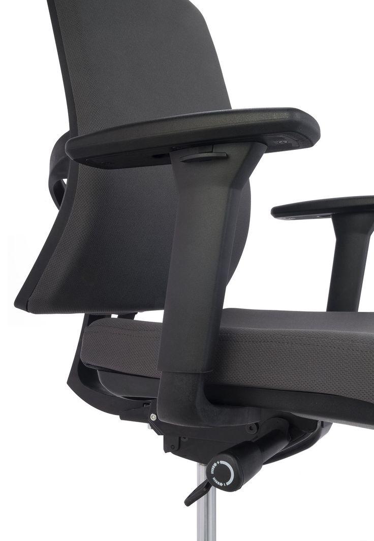 Fotel biurowy Level BT HD Grospol mix tkanin Biokominki,Grille ogrodowe,Drzwi…