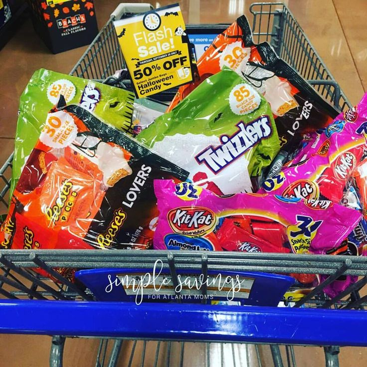 Halloween Candy at Kroger (Today only - Flash Sale) http://simplesavingsforatlmoms.net/2017/09/halloween-candy-kroger-today-flash-sale.html #Halloween #Kroger