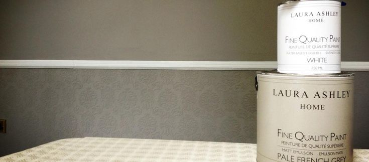 Paint the dado rail white - use pattern lined paper and paint all