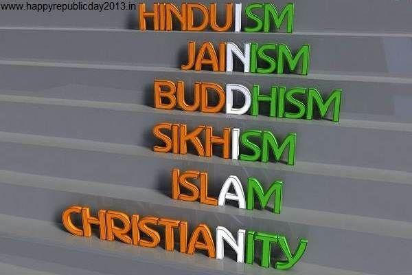 Happy Republic Day 2015  Next Generation INDIAN    hinduIsm        JaiNism      BudDhism       sikhIsm         IslAm christiaNity