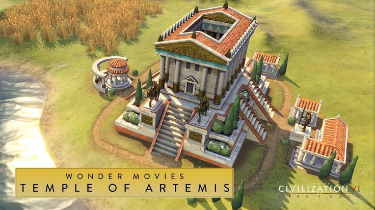 Civilization VI: Rise and Fall - Temple of Artemis (Wonder Movies) #CivilizationBeyondEarth #gaming #Civilization #games #world #steam #SidMeier #RTS