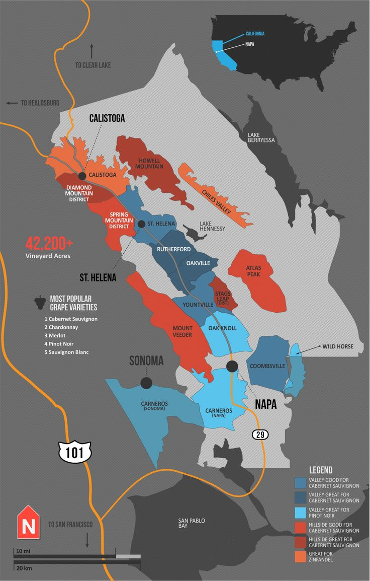Best Wine Maps Vins Cartes Des Régions Images On Pinterest - Map of all us avas