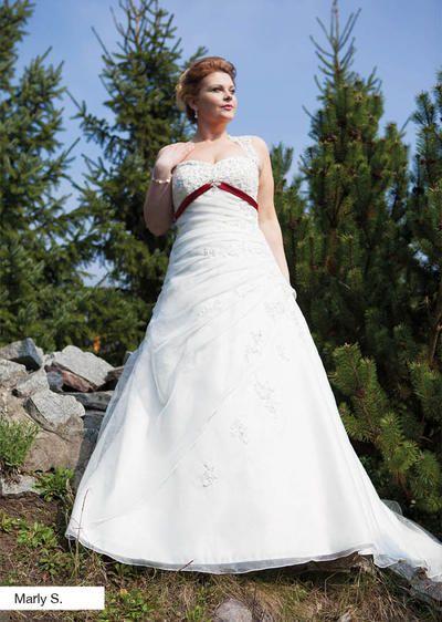 138 besten unsere brautmode bilder auf pinterest wedding for Brautschau xxl