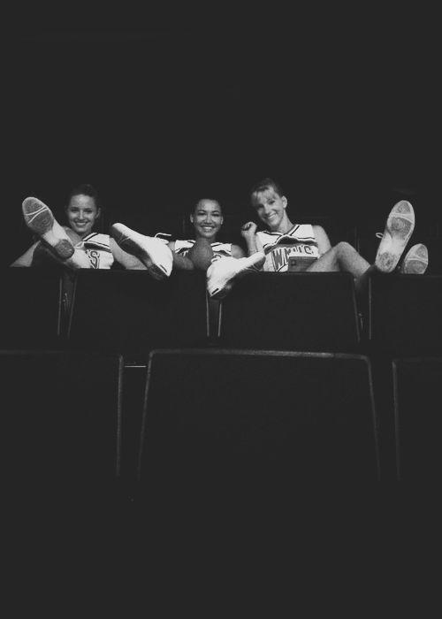 Quinn, Santana and Brittany