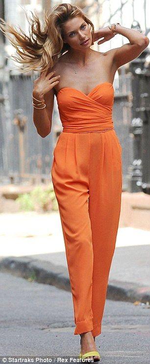 17 Best ideas about Orange Jumpsuits 2017 on Pinterest | Women's ...