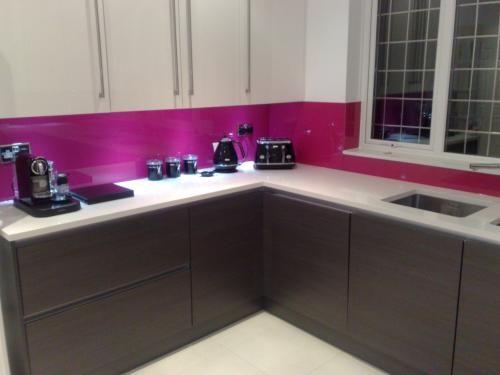 Click to enlarge kitchen worktop surfaces splash backs and kitchen - Glass Splashback For Kitchen Beautiful Homes Kitchen
