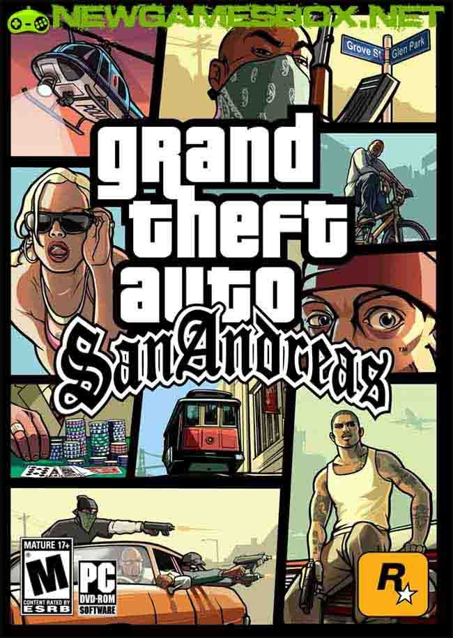 GTA San Andreas Highly Compressed PC Game Free Download for